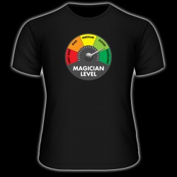 Tee-Shirt Magician Level Color