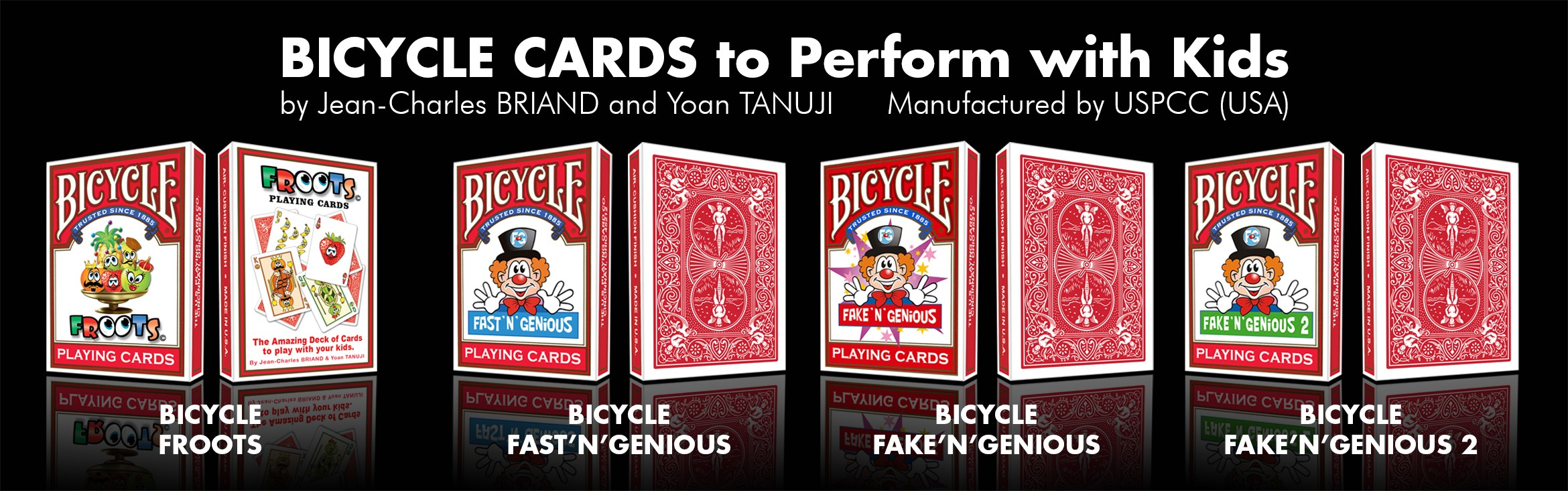 bicycle-cards-magician-kids-children-fast-n-genious-froots-fake-n-genious